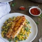 Cilantro Time Tilapia {GF, Low Fat, High Protein + Super Simple} - Food Faith Fitness