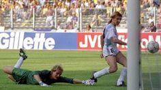 El gol de Caniggia, toma tres (Foto: AP)