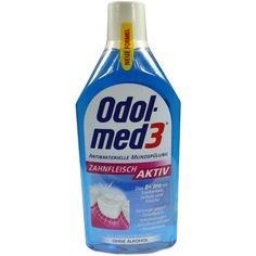 ODOL MED Zahnfleisch aktiv:   Packungsinhalt: 500 ml Mundwasser PZN: 04314818 Hersteller: GlaxoSmithKline Consumer Healthcare Preis: 3,28…