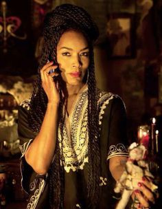 Angela Bassett as the Voodoo Queen Marie LaVeau - American Horror Story