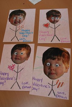 Easy Valentine's Day Cards for Kids to Make!