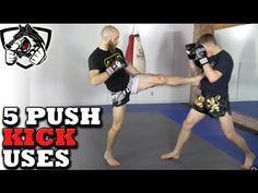 Are You Using All 5 Teep Push Kick Tricks? w/Muay Thai Guy
