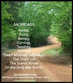 Backroads...