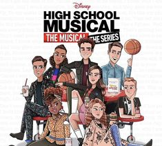 I found this online I did not create it. All credits go to creator and Disney. Musical Quiz, Musical Theatre, High School Musical Cast, Disney High Schools, Camp Rock, Emperors New Groove, Arte Disney, Netflix, Series Movies