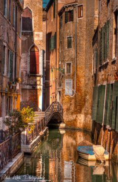 Venise : ses ponts, ses ruelles deau