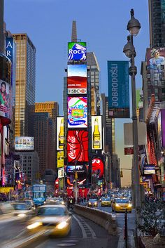 Times Square, NYC ~ Taxi