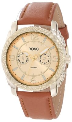 XOXO Women's XO3368 Brown Croco Band Watch ** You can get additional details at the image link. (This is an Amazon Affiliate link and I receive a commission for the sales)