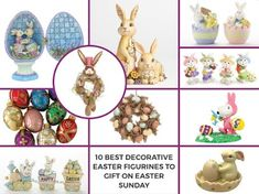 Lijo Decor's Easter Collection includes like decorative egg ornaments, easter ornaments, bunny figurines, easter wishing balloons, bunny designed tableware and dinnerware and much more which are must for celebrating Easter are available in this collection.