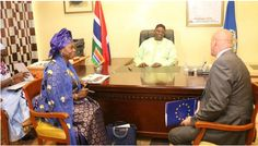 The European Union (EU) is ready to release significant budgetary aid to The Gambia. The money were earmarked for the year 2015/2016 but were later frozen due to serious concerns over human rights and good