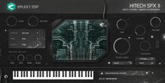 Hitech - Psycore / Hi-tech plug-in instrument VSTi AU Fx Sound, Normal Mode, Twisters, Explosions, Dubstep, Special Effects, Electronic Music, Psychedelic, Plugs