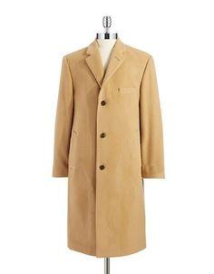 Lauren Ralph Lauren Wool and Cashmere Coat Men's Beige 38 Regular