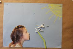 Teach Them To Fly: Making Wishes (Dandelion Seeds) Spring Theme, Spring Art, Spring Crafts, Spring Activities, Preschool Activities, Weather Activities, Preschool Lessons, Preschool Garden, Preschool Crafts