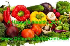 Look better & feel better in 2013 with a good @detox program. Wishing you the best of health.