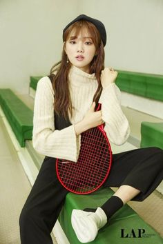 Lee Sung Kyung - Lap 2016 F/W Collection Pics