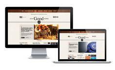 JustGoodNews.Biz Website design and Development