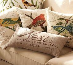Nest Sentiment Lumbar Pillow #potterybarn