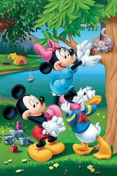 Mickey mouse. Sauveteur....