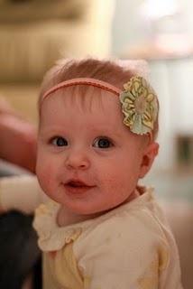 Baby headband DIY. I know Nana will make lots of these