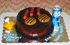 BBQ Cake ~ All Edible