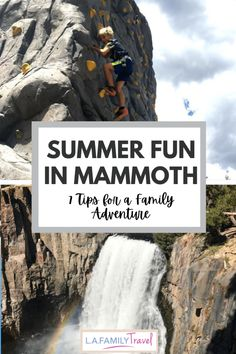 MAMMOTH Lake with kids is full of opportunity for fun and adventure! Check out these 7 tips that will make your family trip so much fun! Summer Travel, Travel With Kids, Summer Fun, Family Travel, Usa Travel Guide, Packing Tips For Travel, Travel Usa, Family Adventure, Adventure Travel