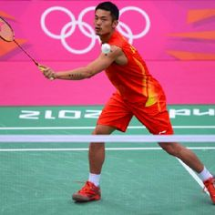Olympic champ Lin Dan