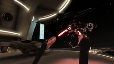 Space Pirate Trainer on the Vive makes you feel like Han Solo inside of Galaga Evolution Of Video Games, Space Pirate, Vr Games, Indie Games, Make You Feel, Pirates, Han Solo, Make It Yourself, Feelings