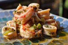 Insalata di Frutti di Mare .. Italian Seafood Salad - Janice Tripepi