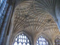"The ""New Building"" fan-vaulted ceiling, Peterborough Cathedral, Peterborough, Cambridgeshire, England Peterborough Cathedral, The Rock, Barcelona Cathedral, England, Explore, Architecture, Building, Image, Arquitetura"
