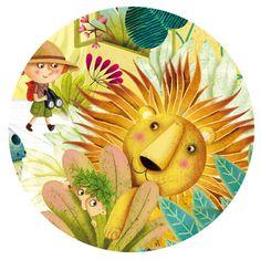 par Marie Desbons lion safari