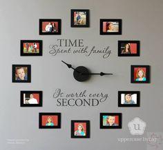 Wonderful DIY Wall Clock Idea - Canadian Basics