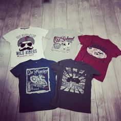 """#recycledartworld #yourloveforfashion #nowinshop #tshirt #garage #motorcycle #wildriders #oldschool #the special finishing offerte this ready-made garnment gives it a """"used"""" aspect #"""