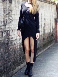 High Low Asymmetrical Maxi Dress