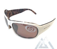 adb5550647 Native Eyewear Solo Sunglasses - Sahara Snow White - Polarized Copper  Reflex I NativeSlope.com