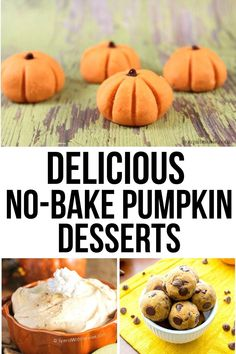 These no-bake pumpkin dessert recipes are easier than their baked counterparts, and they taste completely amazing! #pumpkin #dessert #pumpkindessert #dessertrecipe