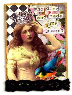 Ms Sadie -Artist Trading Card