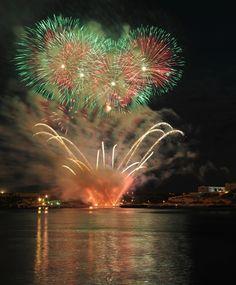 Fireworks Festival à Malte Fireworks Festival, Malta