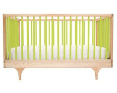 Modern Baby Crib : Kalon Studios Caravan Crib With Classic Form and Contemporary Bold Color