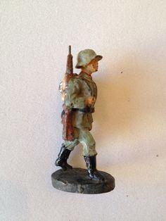 B162/ Hausser Elastolin Figur 2 Wk. von ca. 1935 | eBay