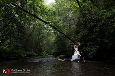 A bridal / trash the dress session in the blue ridge mountains of Georgia.  NO TRAVEL FEES IN THE US!  Join Me On Facebook! www.facebook.com/matthewdruinphotography  Twitter! www.twitter.com/matthewdruin  Atlanta Wedding Photographer www.matthewdruin.com