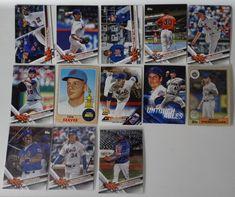 2017 Topps Update Mets Master Team Set of 13 Baseball Cards W/ SP Variations #topps #NewYorkMets