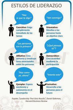 6 estilos de liderazgo