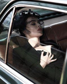 romanticnaturalism:  Helena Bonham Carter in 'Her Roaring Forties' photographed by Mert & Marcus for Vogue UK July 2013