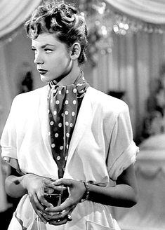 Lauren Bacall in The Big Sleep, 1946.