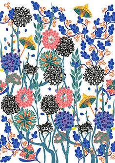 Florence Angelica Colson Printed Textiles and Surface Pattern Design | COLLECTIONS