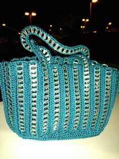 Pop top purse.