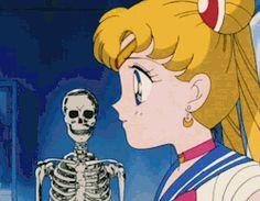 gif * sailor moon
