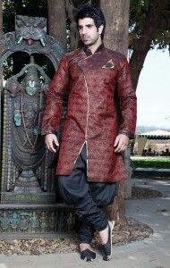 Stylish indian male fashion Styled jacket, puffed pants and moc shoes