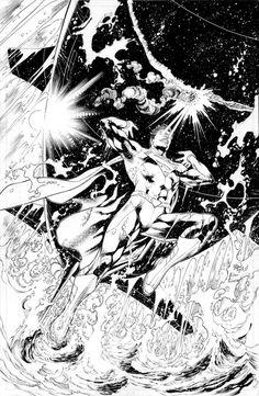 Superman 9 cover - Ivan Reis & Eber Ferreira Comic Art