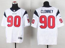 Nike Texans  90 Jadeveon Clowney White Men s Stitched NFL Elite Jersey And   Broncos Demaryius 556e66eac