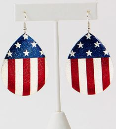 of July Earrings by Tickled Pink